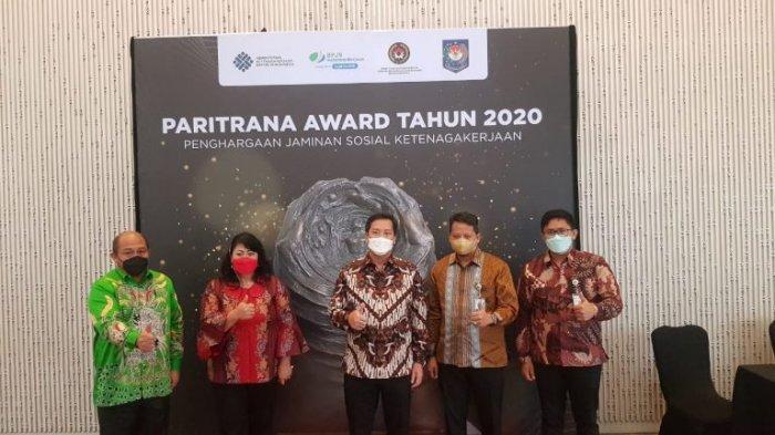 Sulut Kandidat Peraih Paritrana Award, Wagub Paparkan Program Ketenagakerjaan di Hadapan Juri