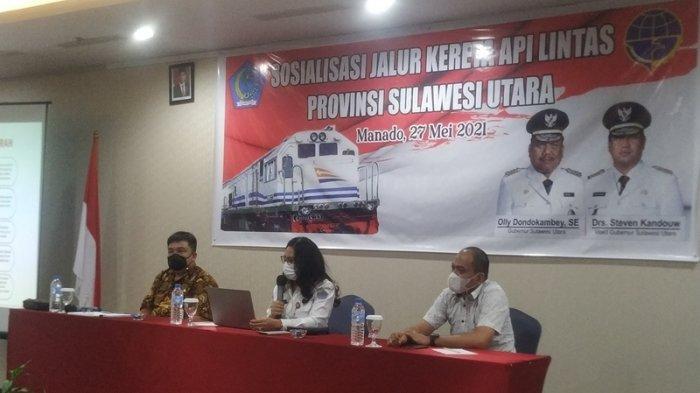 Sulut Siapkan Master Plan Proyek Jalur Kereta Api, Total Anggaran Rp 65 Triliun