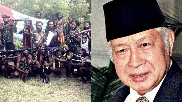 TRIK Soeharto Taklukkan 14 Ribu Pasukan KKB Papua Kembali ke NKRI, Ternyata Pakai Cara Seperti ini