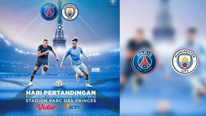 PSG VS Manchester City, Berikut Prediksi Skor dan Susunan Pemain