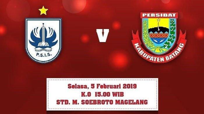 Link Live Streaming PSSI TV - Siaran Langsung PSIS Semarang Vs Persibat Batang Sore Ini 15.00 WIB!