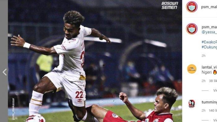 PSM Kalahkan Persija Jakarta di Piala Menpora, KKSS di Manado Bikin Gemuruh Rains Cafe