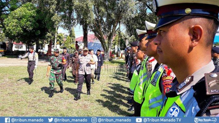 PSU, Polres Kotamobagu Siagakan 15 Personel per TPS