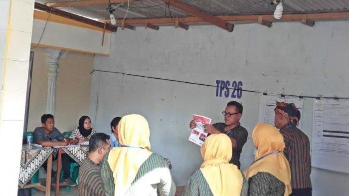 PSU di TPS Winong Boyolali: Jokowi-Maruf 109 Suara, Prabowo Sandi 1 Suara, Paslon 01 Menang Telak