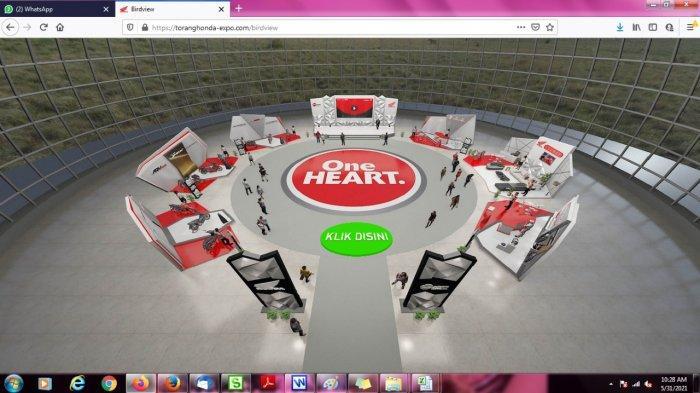 PT Data Adicipta Wisesa kembali menggelar Honda Virtual Exhibition Torang Honda Expo yang berlangsung 29 Mei hingga 4 Juni 2021.