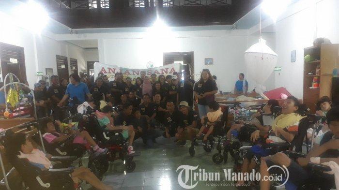 Rayakan HUT ke-18, PT Mega Jasa Kelola Beri Bantuan di Panti Asuhan Sayap Kasih Woloan