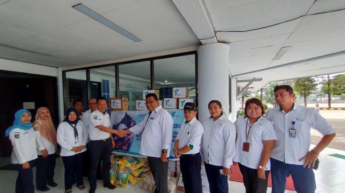 PT Pelindo IV Cabang Bitung Peduli Bencana Alam di Sangihe