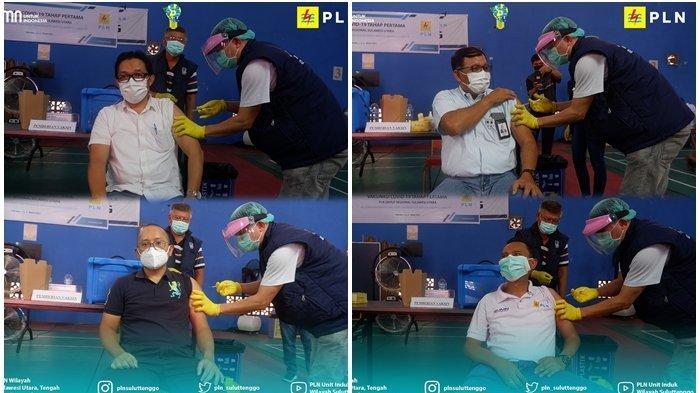 PT PLN (Persero) Unit Induk Wilayah Sulawesi Utara sukseskan pemerintah dengan vaksinasi Covid-19