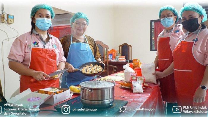 PT PLN (Persero) Unit Induk Wilayah Suluttenggo memberikan bantuan Pelatihan Cooking Class menggunakan kompor induksi.