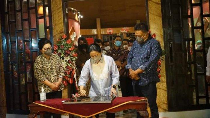 Berkunjung ke Sulut, Ketua DPR RI Puan Maharani Nginap di Pulau Bangka