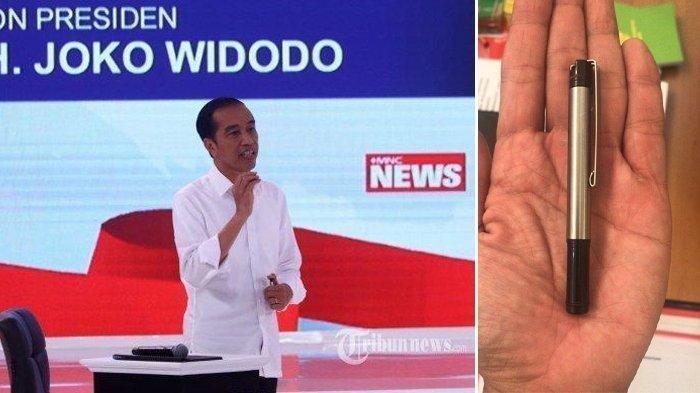 Harganya Hanya Rp 29 Ribu Inilah Pulpen Jokowi yang Dicurigai Jadi Alat Bantu Komunikasi