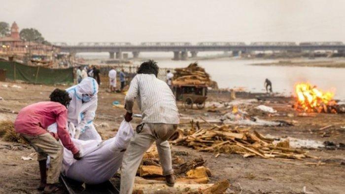 Puluhan Mayat Ditemukan Mengapung di Sungai, Diduga Jadi Korban Covid-19