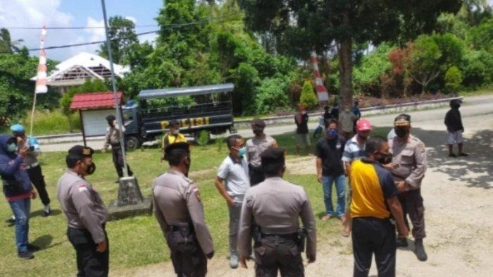 Kesal dengan Hasil Pilkades, Puluhan Warga Desa Pulutan Talaud Mengamuk