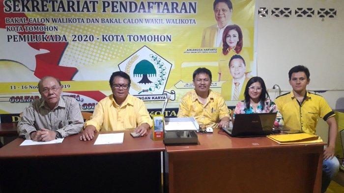 Pungus, Partai Golkar Siap Lakukan Penjaringan Bakal Calon Wali Kota dan Wakil Wali Kota Tomohon