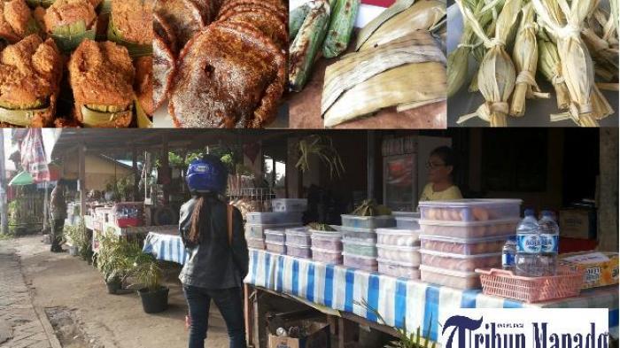 Nikmatnya Kue Tradisional Minahasa di Pusat Kuliner Airmadidi Minut