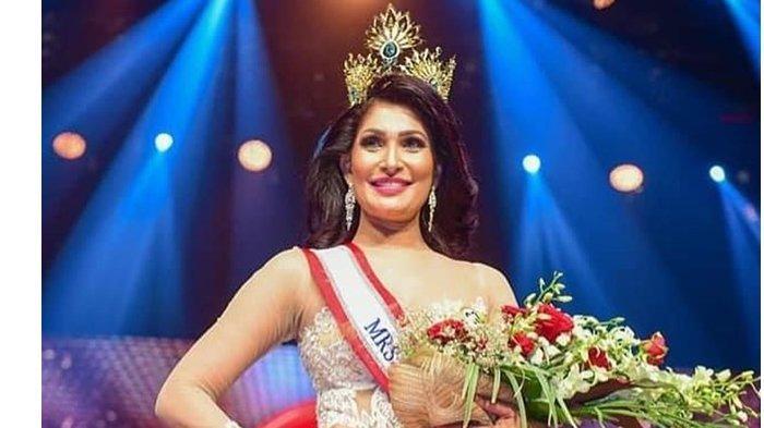 Profil Mrs Sri Lanka 2021 Pushpika de Silva, Mahkota Dicopot Paksa, Alami Cedera di Kepala