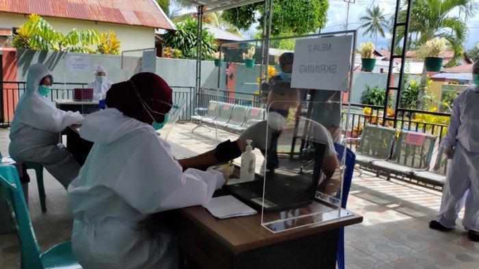 Puskesmas Motoboi Kecil Siapkan Diri Penyuntikan Vaksin Covid 19 Dengan Simulasi