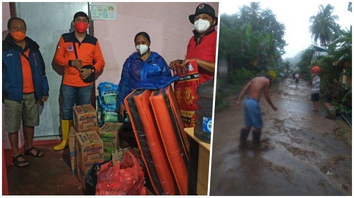 Puting Beliung dan Banjir Terjang Sitaro, 4 Rumah Rusak, 5 Tergenang, Syukur Tak Ada Korban Jiwa