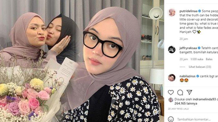 Putri Delina Posting Soal Kebohongan di Instagram, Singgung Prahara Rumah Tangga Sule dan Nathalie?