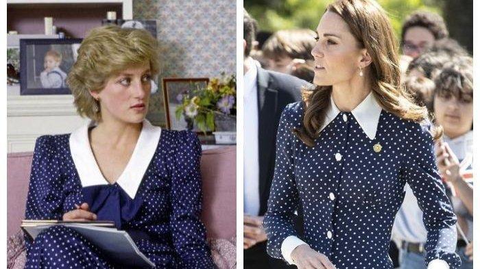 Intip Penampilan Kate Middleton dan Meghan Markle Saat Berpakaian ala Princess Diana