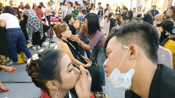 QL Cosmetic Make Up Party di Manado Meriah, Puluhan Make Up Artist Unjuk Keahlian Merias