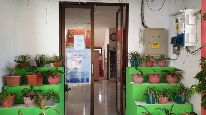 Masuk Kantor Dinkes Sitaro Wajib Gunakan Aplikasi Peduli Lindungi