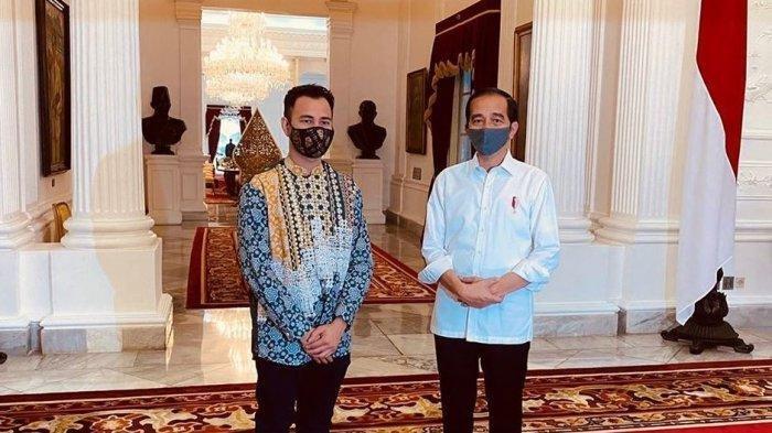 Raffi Ahmad Bertemu Presiden Jokowi di Istana, Disebut akan Jadi Calon Menteri, Berpesan Nasionalis