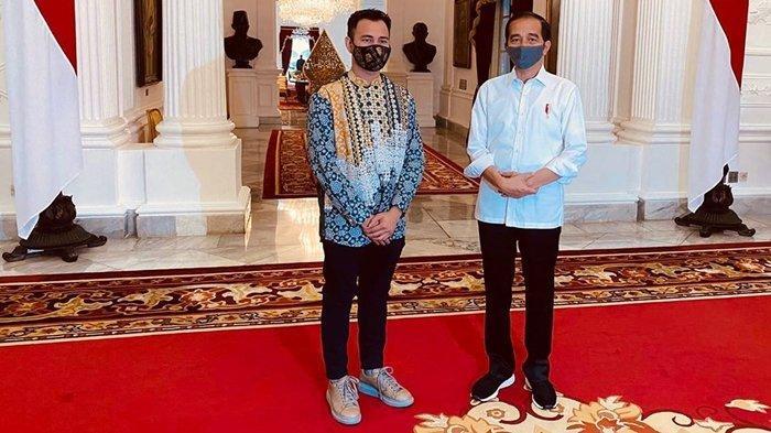 Suarakan Protokol Kesehatan, Presiden Jokowi Bertemu Pekerja Seni di Istana Merdeka