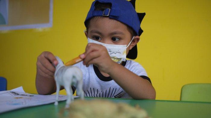 Rafli Salah satu anak penderita Kanker