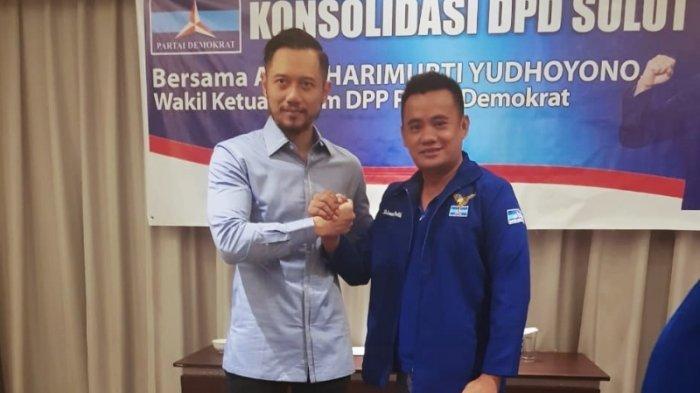 Rahman Dontili Tetap Dukung Kepemimpinan AHY, Meski Dipecat Dari Ketua DPC Demokrat Bolmut