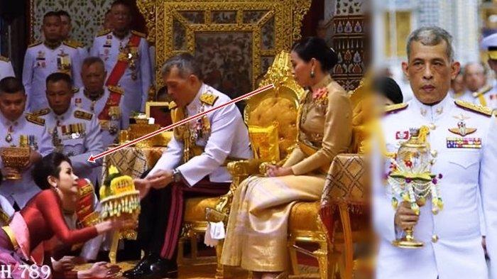 Baru 3 Bulan Menikah, Raja Thailand Lantik Mantan Pacar Jadi Selir di Depan Istri Sah