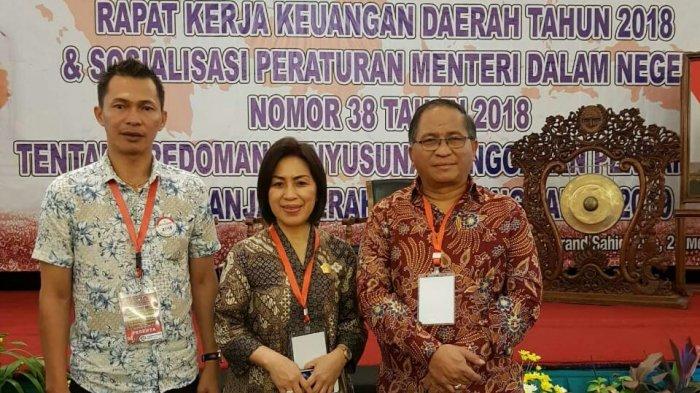 Sekda Tomohon Terima Pesan Ini Saat Hadiri Rakeruda 2018 di Grand Sahid Jaya