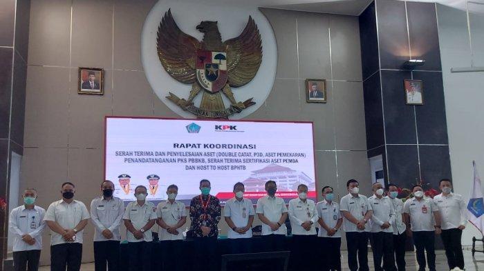 KPK Dukung Pemda di Sulut Tertibkan Aset Senilai Rp 317,6 Miliar pada Semester I 2021