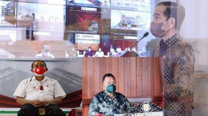 Pemkab Minahasa Ikuti Rakornas Pengendalian Inflasi Bersama Presiden