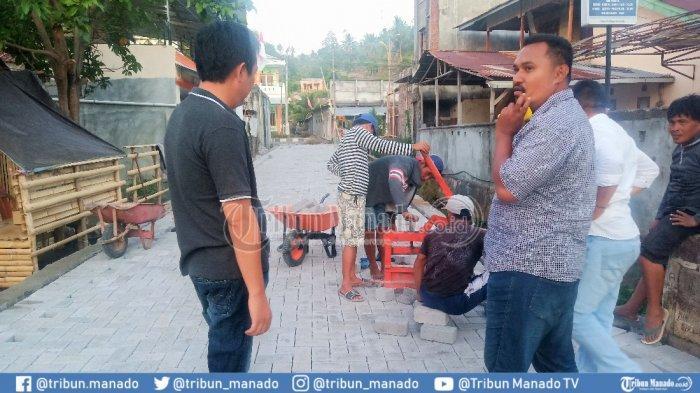 Ranomea Sudah Mulai Manfaatkan Dana Kelurahan, Bobby Bangun Jalan 300 Meter
