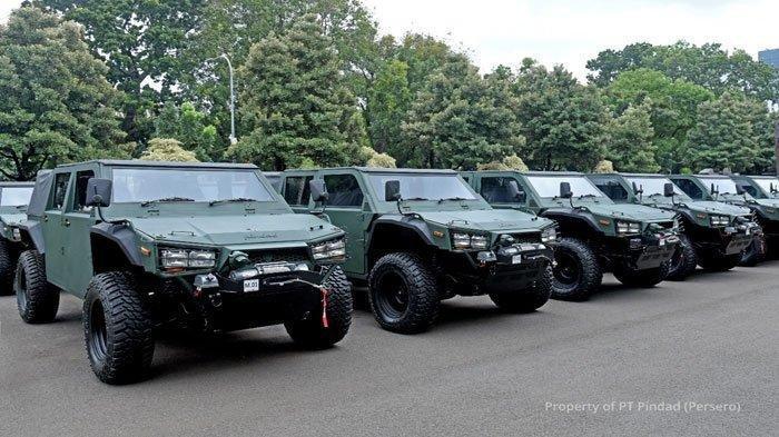 Ini Spesifikasi dan Fitur Andalan Maung Pindad, Prabowo Subianto Resmi Serahkan 40 Unit ke TNI