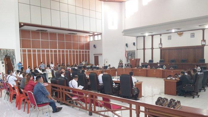 Rapat Dengar Pendapat (RDP) di Kantor DPRD Minahasa