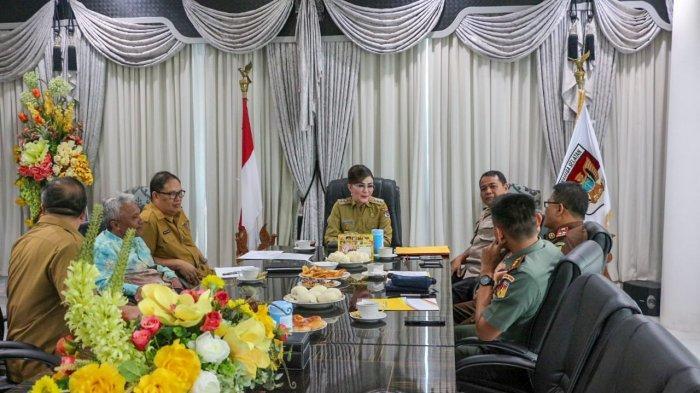 Rapat Forkompinda Minsel Bahas Politik Uang dan Keterlambatan Logistik Pemilu