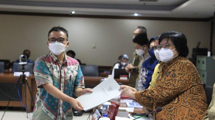 Raker DPD RI dengan Menteri KLH, Senator Stefanus Liow Usul Program Hutan Sosial di Sulut