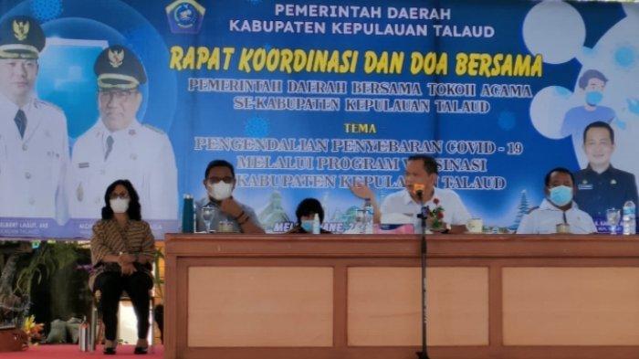 Talaud Masuk Daerah Berisiko Rendah Penyebaran Covid-19, Elly Lasut: Berkat Doa Para Tokoh Agama