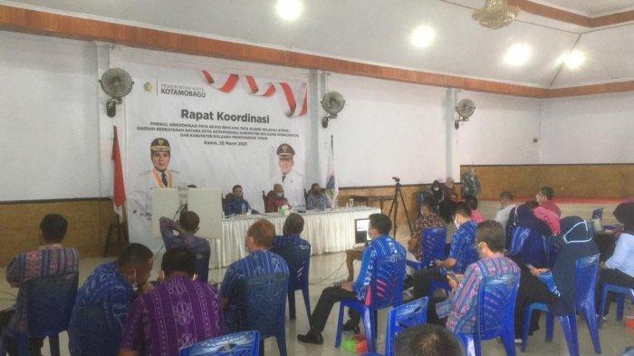 Instansi Teknis di Kotamobagu Hadiri Rapat Koordinasi