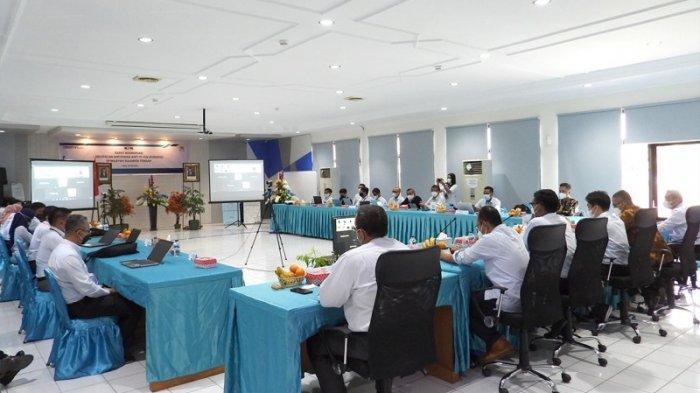 Rapat Koordinasi Percepatan Sertifikasi Aset Tanah PT PLN (Persero) di Provinsi Sulawesi Tengah.