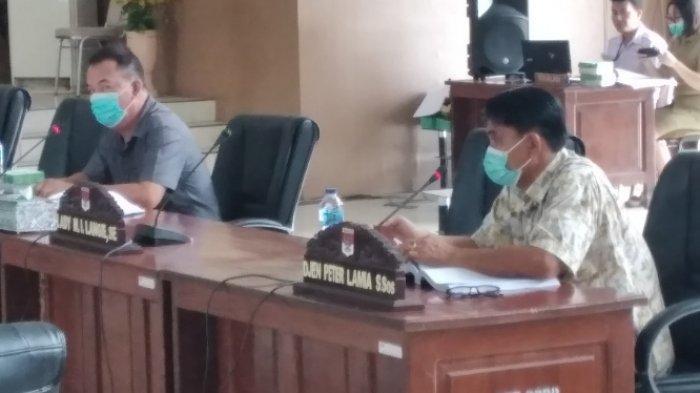 Peserta Rapat Pansus RPJMD di DPRD Kabupaten Minsel Diwajibkan Jalani Swab Test Antigen