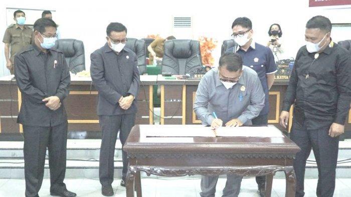 Dana Rp 2,7 Miliar dari DPRD Bitung Masuk Kas Daerah