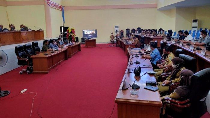 DPRD Bolmong Gelar Rapat Pembahasan Ranperda Inisiatif BUMDes