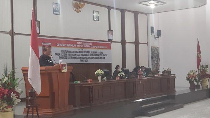 Paripurna DPRD Minahasa, ROR-RD Minta Doakan Upaya Pemerintah Cegah Bencana Alam dan Non Alam