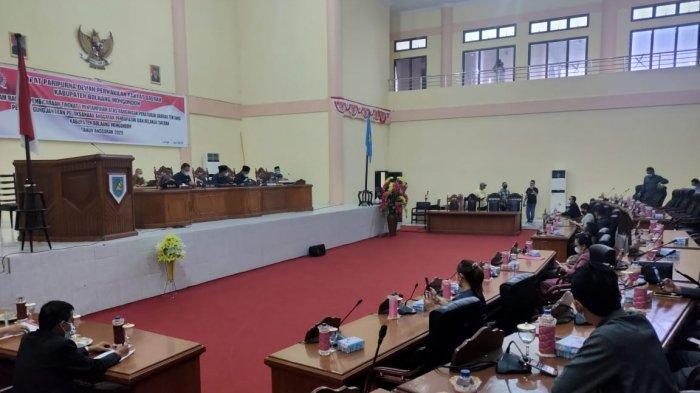 DPRD Bolmong Gelar Rapat Paripurna Bahas Ranperda Pertanggungjawaban APBD