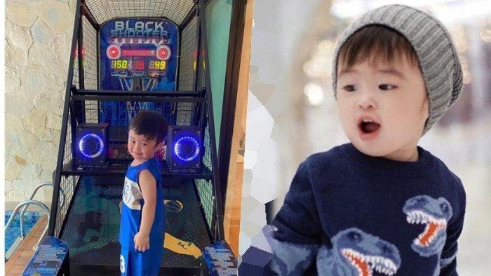 Setelah Jet Pribadi dan Mobil Mini, Raphael Moeis Kembali Dapat Mainan Mewah: Basketball Arcade Game