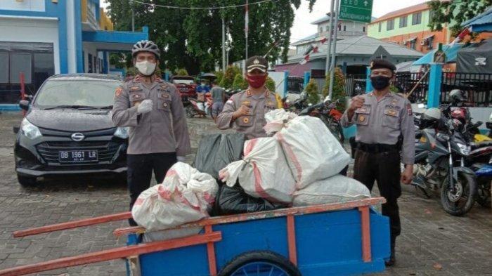Polres Talaud Gagalkan Penyelundupan Ratusan Liter Cap Tikus Via Kapal