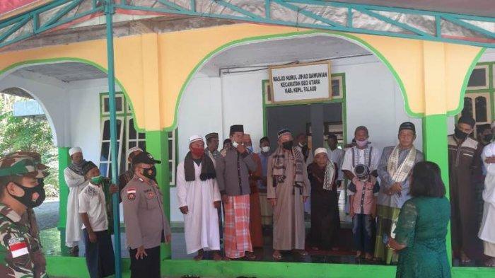 Ratusan Personel Polres Talaud Lakukan Pengamanan Salat Id dan Ibadah Kenaikan Isa Almasih